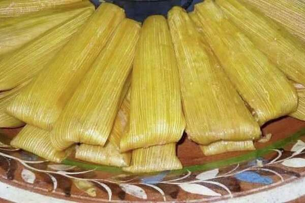 Tamales from Téllez Tamales & Barbacoa.