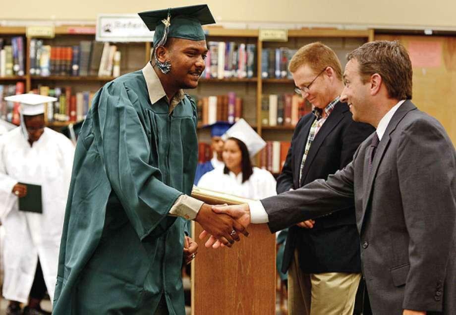 Summer graduates from Norwalk Public Schools will receive their diplomas next week. Photo: Erik Trautmann / Hearst Connecticut Media File
