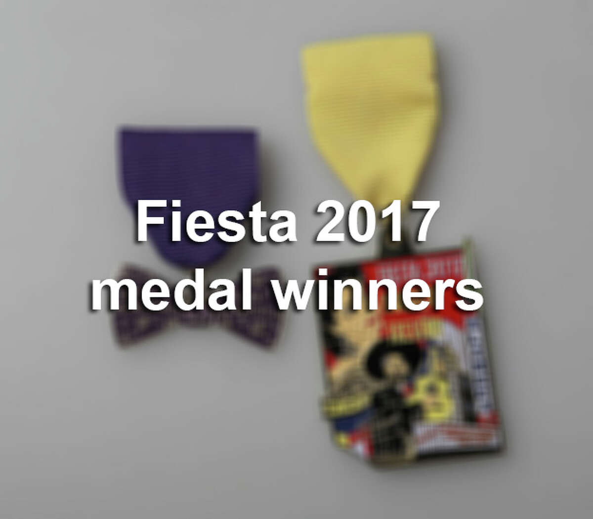 See the colorful and creative Fiesta medals that caught our attention in 2017.