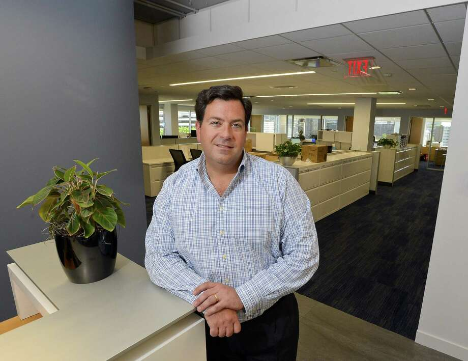 Peter DiCorpo, chief operating officer of Waypoint Residential, stands in the firm's new offices at 9 W. Broad St., on Wednesday, July 26, 2017 in Stamford, Conn. Photo: Matthew Brown / Hearst Connecticut Media / Stamford Advocate