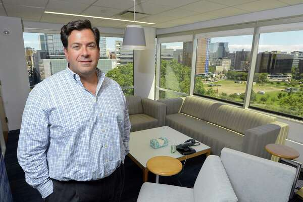 Peter DiCorpo, chief operating officer of Waypoint Residential, stands in the firm's new offices at 9 W. Broad St., on Wednesday, July 26, 2017 in Stamford, Conn.