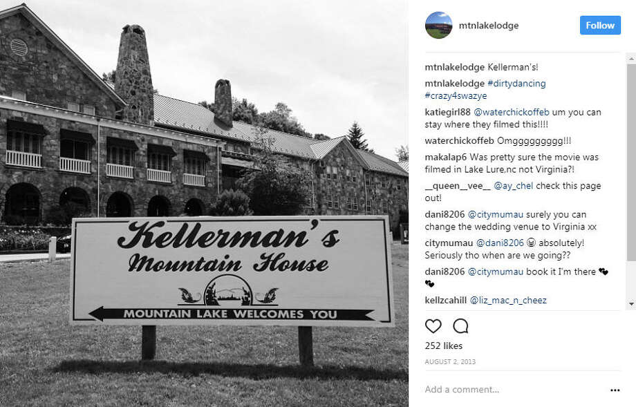 """Dirty Dancing's"" iconic Kellerman's Resort (a.k.a Mountain Lake Lodge) is a real place where fans can actually visit, see sights from the film and stay in Baby's room.Photo: Mountain Lake Lodge Instagram Photo: Instagram"