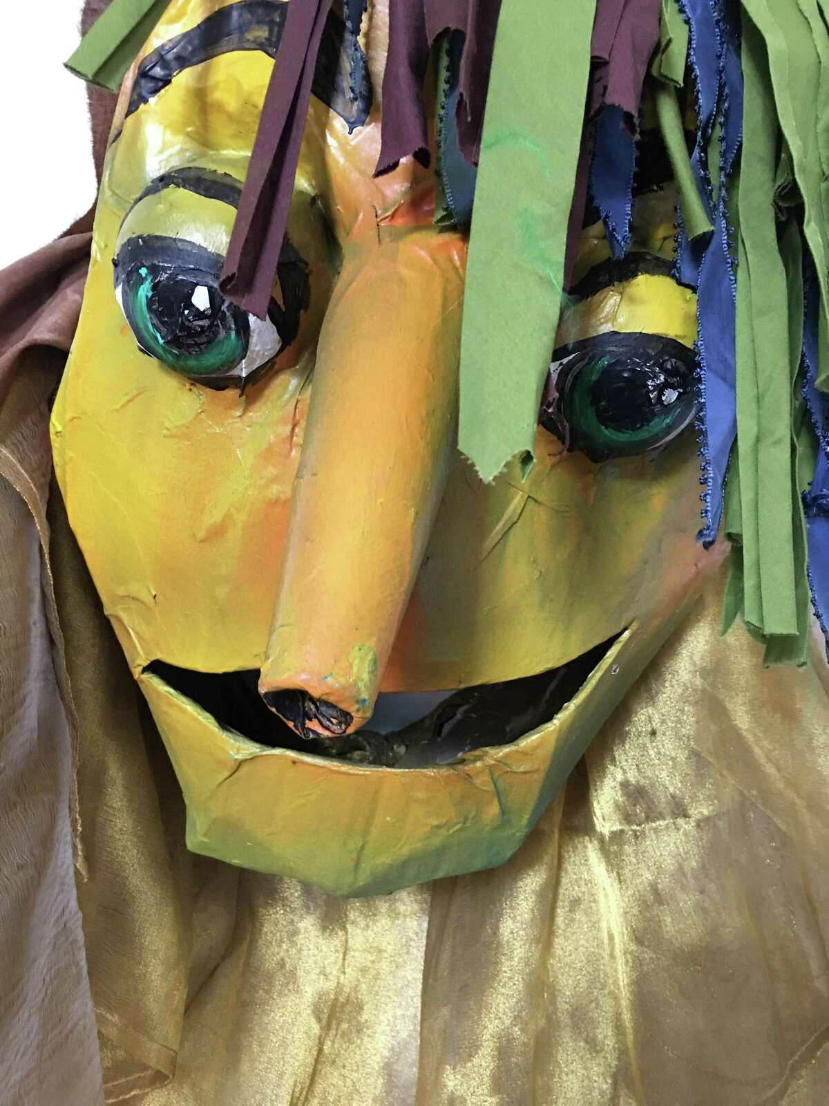 The 2017 Puppet Parade, part of the SoNo Arts Festival in Norwalk on Aug. 5 and 6, will feature all new puppets, including the one above.