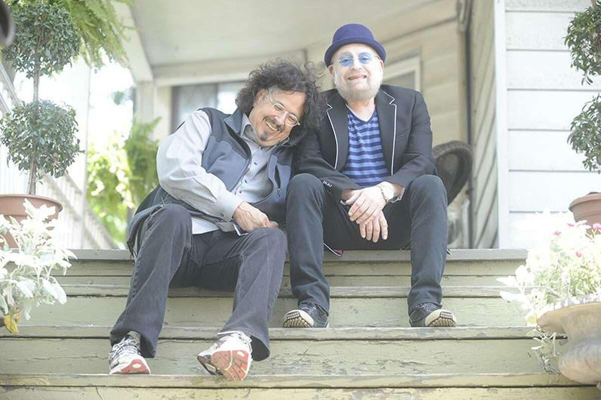 Howard Kaylan, left, and Mark Volman, better known as The Turtles featuring Flo & Eddie, will headline the Happy Together Tour at Ives Concert Park in Danbury, on Friday, Aug. 4.