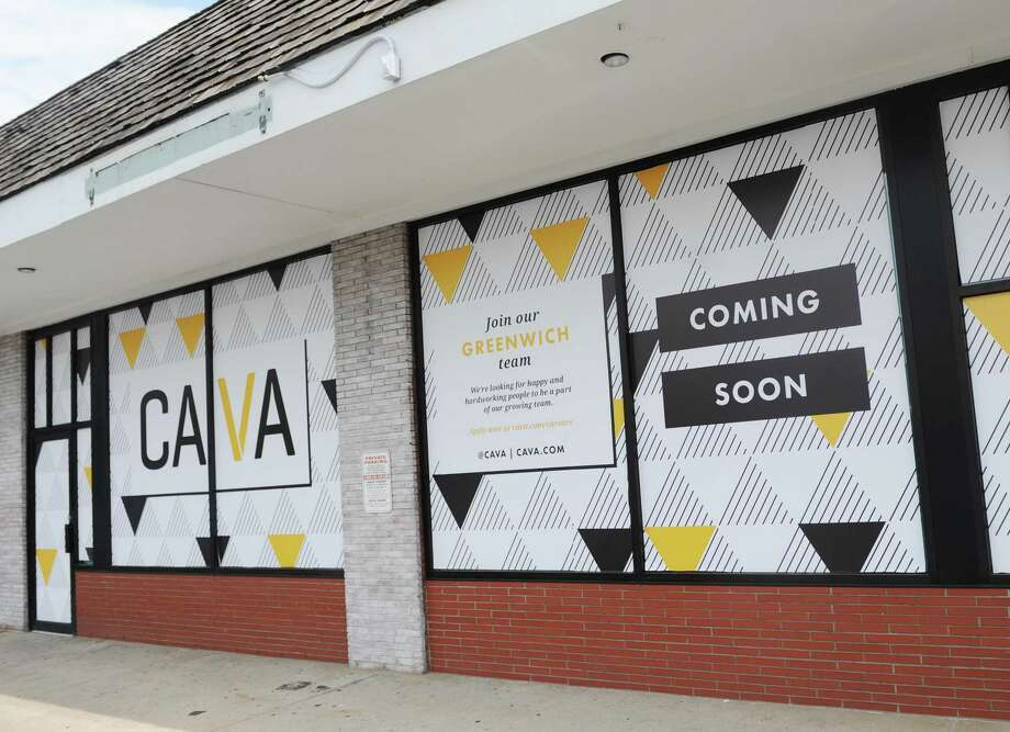 The casual Greek Mediterranean restaurant Cava will soon open in the former home of Cosi at 129 West Putnam Avenue in Greenwich, Conn., photographed on Monday, July 17, 2017. Photo: Tyler Sizemore / Hearst Connecticut Media / Greenwich Time