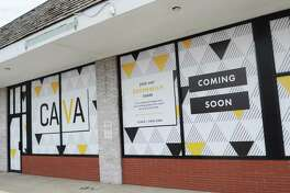 The casual Greek Mediterranean restaurant Cava will soon open in the former home of Cosi at 129 West Putnam Avenue in Greenwich, Conn., photographed on Monday, July 17, 2017.
