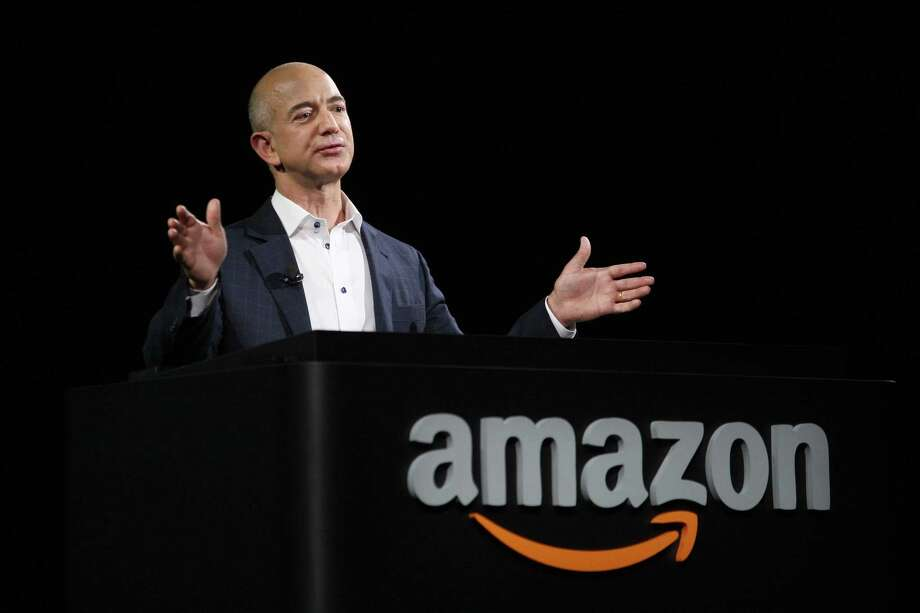 FILE-- Amazon CEO Jeff Bezos. Amazon.com Inc. may soon bring Shake Shack burgers and Chipotle burritos to your door as it pushes deeper into the growing market for restaurant delivery. Photo: David McNew / / 2012 Getty Images