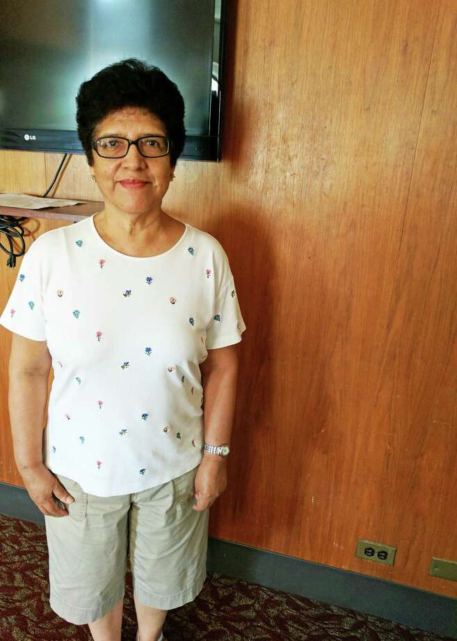 Lucila Huerta came to Greenwich 15 years ago to stay with family and found friends and good medical care. Photo: Jennifer Turiano