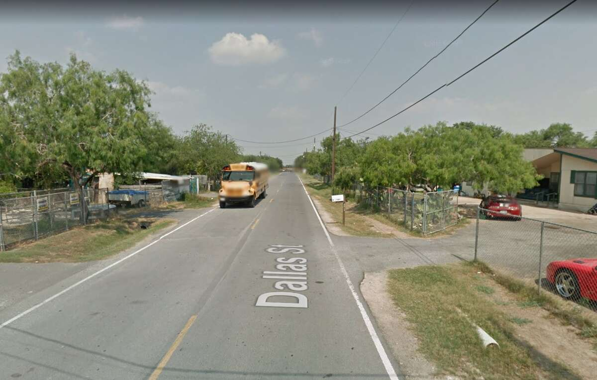 The 8000 block of Dallas Street in Edcouch, Texas.