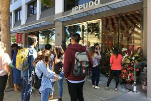 A look at the lines and food at the grand opening of Ippudo Ramen in Berkeley.