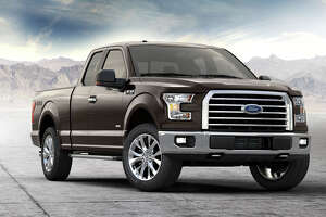 A chrome billet-style grille is among the many items included in the 302A equipment group, Ford's top option package for the F-150 XLT.