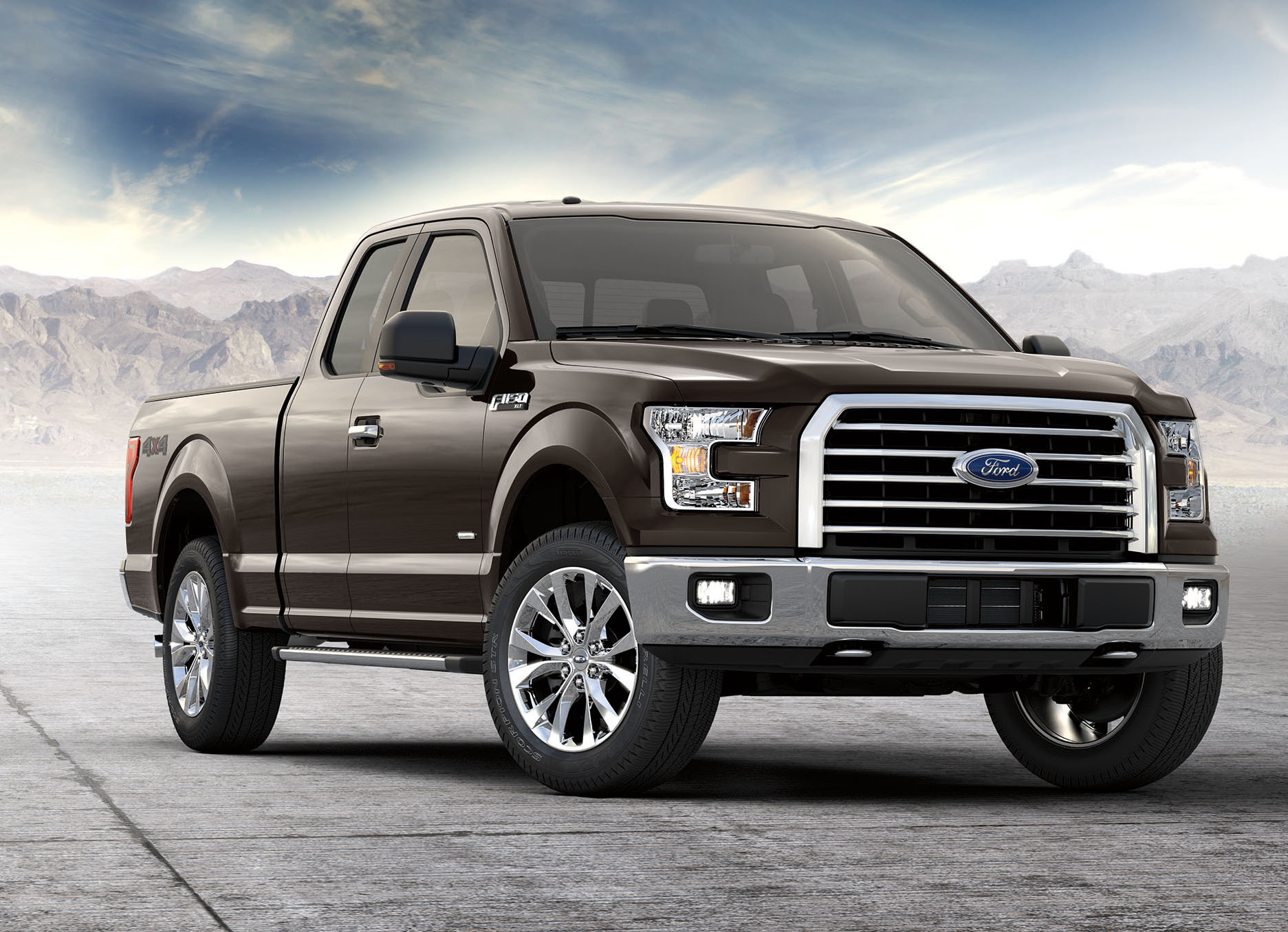 2017 Ford F-150 gets more powerful V6, 10-speed auto