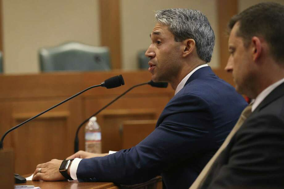 San Antonio Mayor Ron Nirenberg testifies before the Texas House of Representatives Urban Affairs Committee on local control Tuesday. The special session was called by Gov. Greg Abbott to push conservative bill that stalled in the regular session. It's up to the House to spare Texas the pain of their approval. Photo: JERRY LARA /San Antonio Express-News / San Antonio Express-News