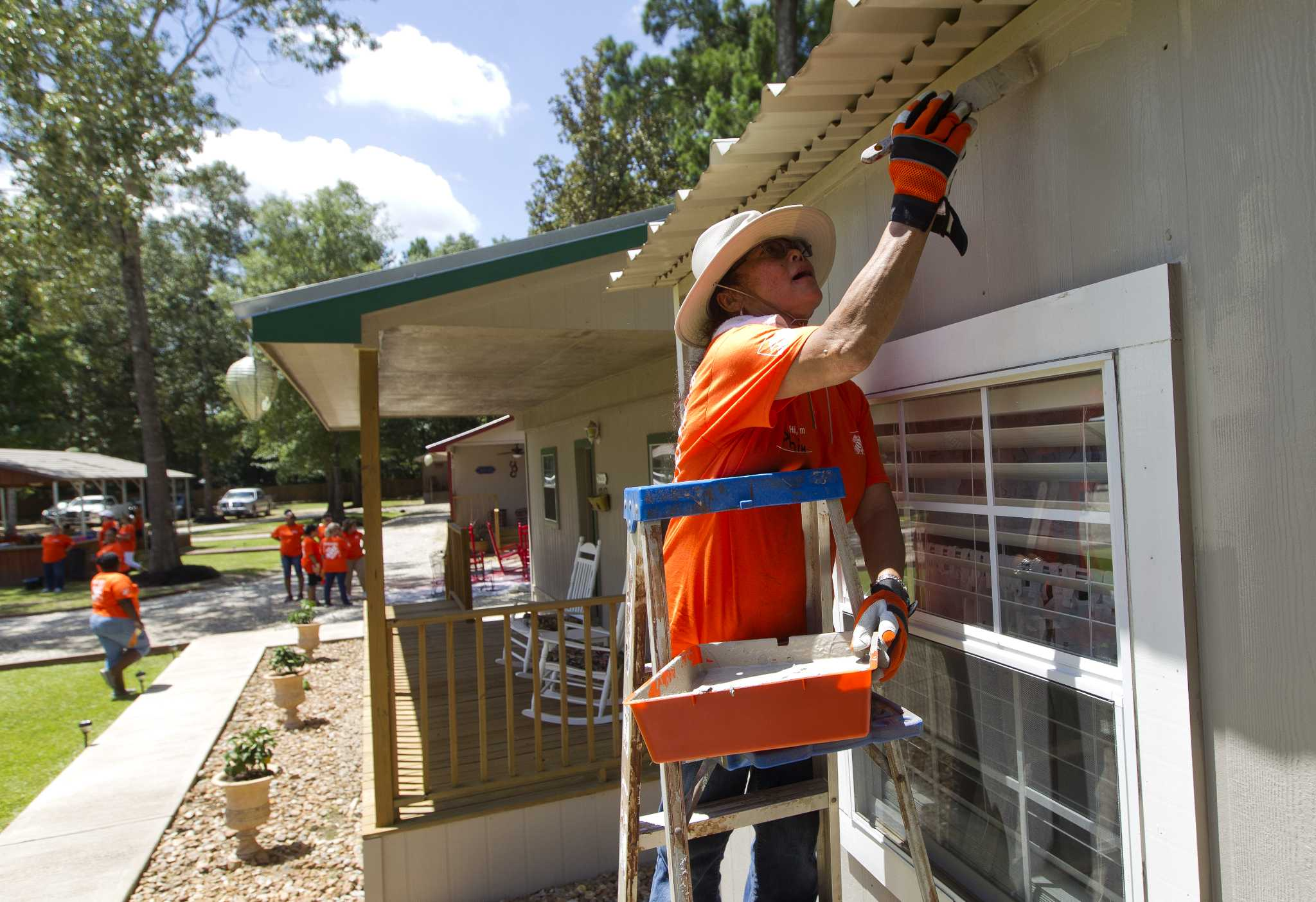 ... Home Depot Helps Grow Hope At Cancer Retreat The Courier ...