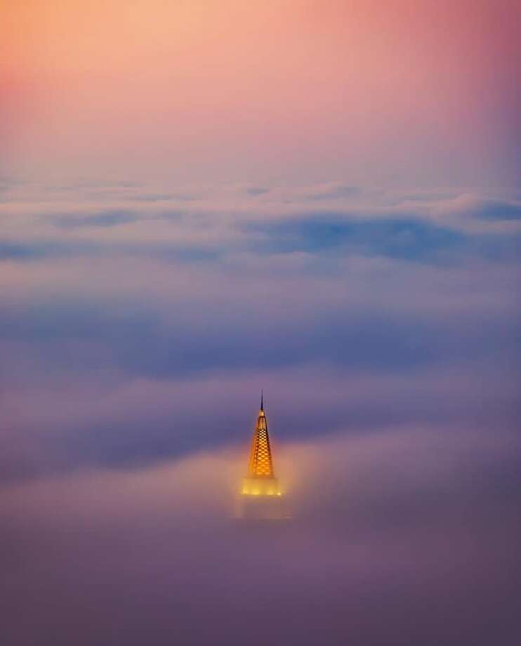 """Click through this slideshow to see our favorite Instagram posts of July 2017.@vincentjamesphotography finds the """"Temple in the Fog,"""" otherwise known as the Mormon Temple in Oakland. Photo: Instagram / Vincentjamesphotography"""