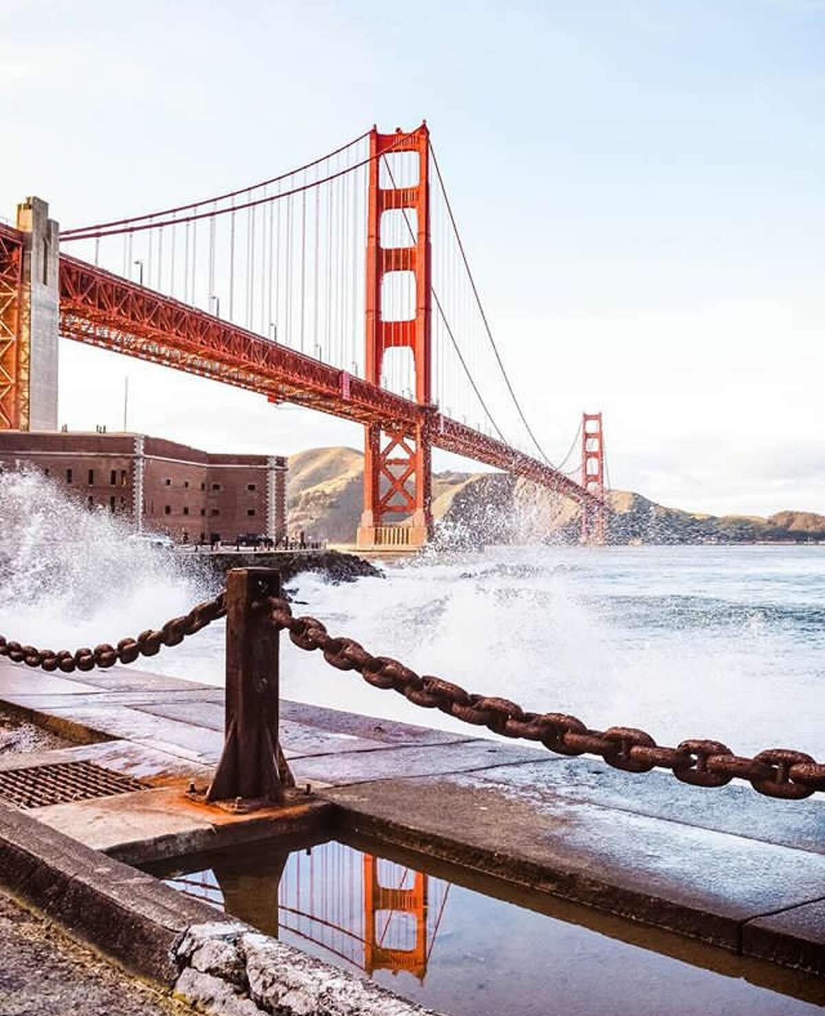 """GOLDEN GATE BRIDGE It may seem hard to believe that the widely beloved span once incurred the wrath of critics, but back in 1922 when plans were first revealed, the press derided Joseph Strauss' design as """"ugly."""""""