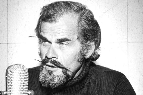 Broadcaster Bill King during his years with the Warriors. Sept. 17, 1973.