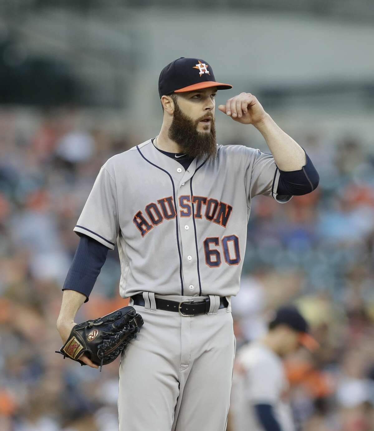 Starting pitcher Dallas Keuchel said he wishes the front office would have been able to make a big move before the trade deadline.