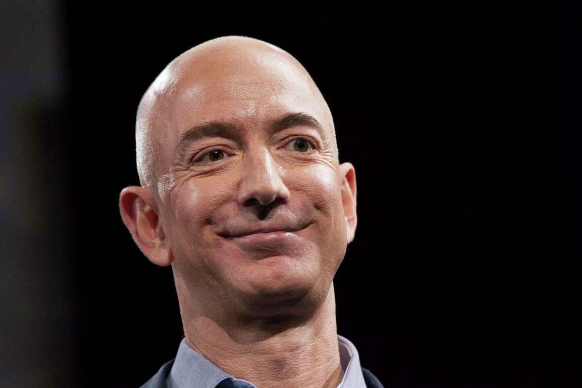 Jeff Bezos' fortune grew by $13 billion Monday.