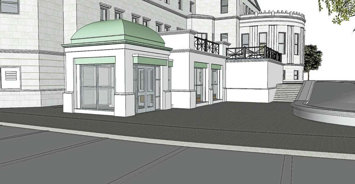 The James Blackstone Memorial Library is proposing a $4.8 million renovation project that will relocate the children's room to the ground floor, add more meeting rooms, increase the public's access to computers and expand the library's main entrance.