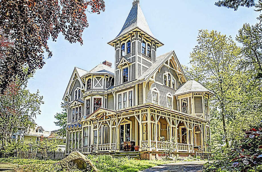 The Chetstone mansion is located on East Grand Avenue in Fair Haven and was once the home of an early female physician in New Haven. Photo: Submitted Photo — Ian Christmann