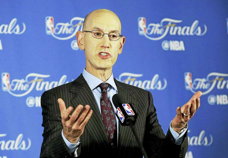NBA commissioner Adam Silver. Photo: The Associated Press File Photo   / Copyright 2016 The Associated Press. All rights reserved. This material may not be published, broadcast, rewritten or redistribu