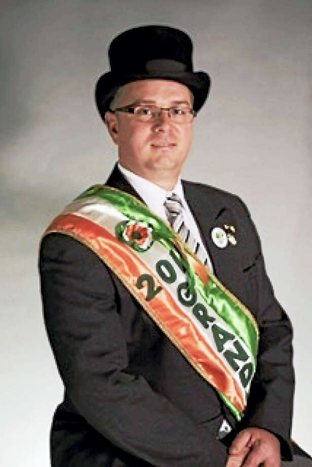 Clifford Wall Lynch Jr. is the 2017 Grand Marshal of the Greater New Haven St. Patrick's Day Parade. Photo: Submitted