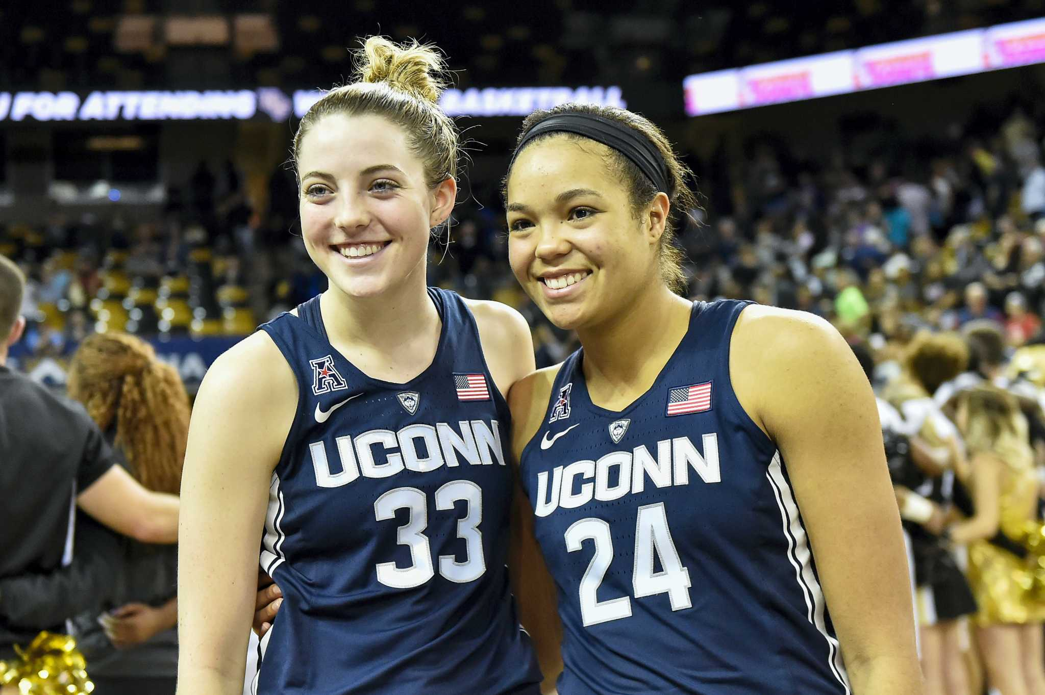 new product 6b8cf 6adcb UConn's Napheesa Collier, Katie Lou Samuelson named AAC co ...