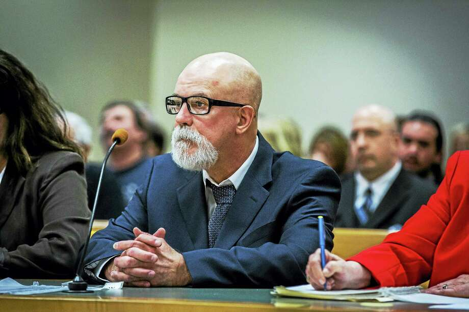 David Weinberg, 58, convicted of killing Joyce Stochmal in 1984, in court Thursday in Waterbury. Photo: LAUREN SCHNEIDERMAN — Hartford Courant    / Hartford Courant
