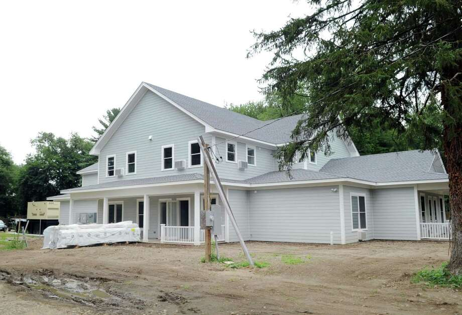 The Fairfield County Hospice House that is in its final stages of construction at 1 Den Road in Stamford, Conn., Friday, July 28, 2017. Photo: Bob Luckey Jr. / Hearst Connecticut Media / Greenwich Time