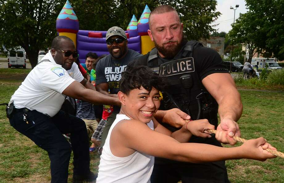 The Norwalk Police Department will host a night dedicated to community outreach with its National Night Out event from 5-8 p.m. Tuesday, Aug. 1, at the Norwalk Police Department at 1 Monroe St. Photo: Erik Trautmann / Hearst Connecticut Media File / Norwalk Hour