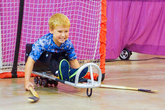 Abilities Expo features the latest in adaptive sports, including sled hockey, and fun activities such as cosplay for people of all abilities.