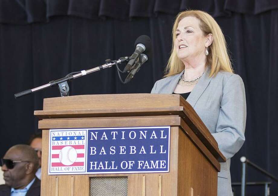 """Kathleen Lowenthal said her stepfather, Bill King, was famously unconven tional, but """"when it came to baseball, he had tremen dous respect for its traditions."""" Photo: Milo Stewart Jr./National Baseball Hall Of Fame And Museum / Milo Stewart Jr. / National Baseball Hall Of Fame And Museum / Milo Stewart Jr./National Baseball Hall of Fame and Museum"""