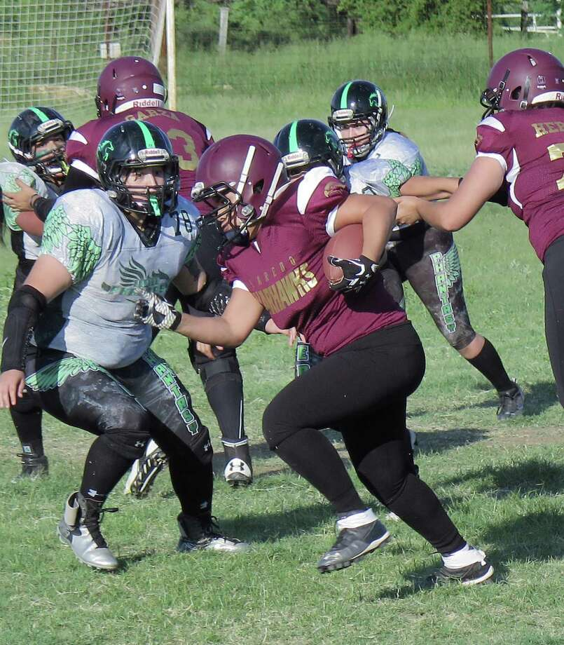 The Laredo Warhawks have accepted an invite to join the newly-formed Xtreme Female Football League next season. Photo: Cuate Santos /Laredo Morning Times File / Laredo Morning Times