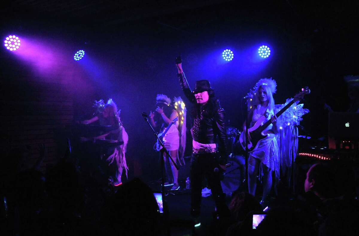 Corey Feldman performs with his Angels at the White Oak Music hall Saturday July 29, 2017. (Dave Rossman Photo)