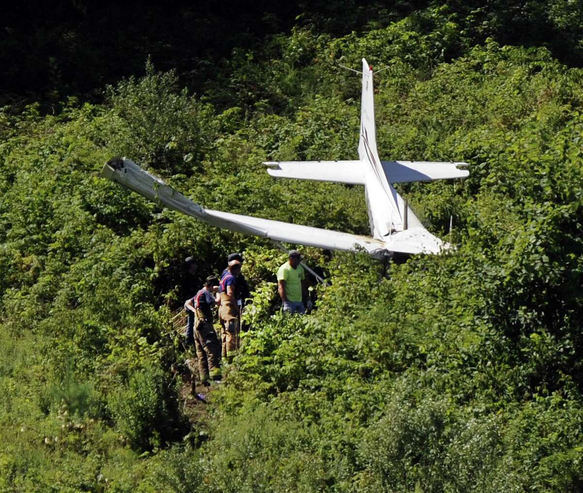 Three people are injured after a plane crashed about a mile from Danbury Airport Sunday morning, police confirmed. The crash occured off Miry Brook Road near the Dog Park around 10:30 a.m, July 30, 2017