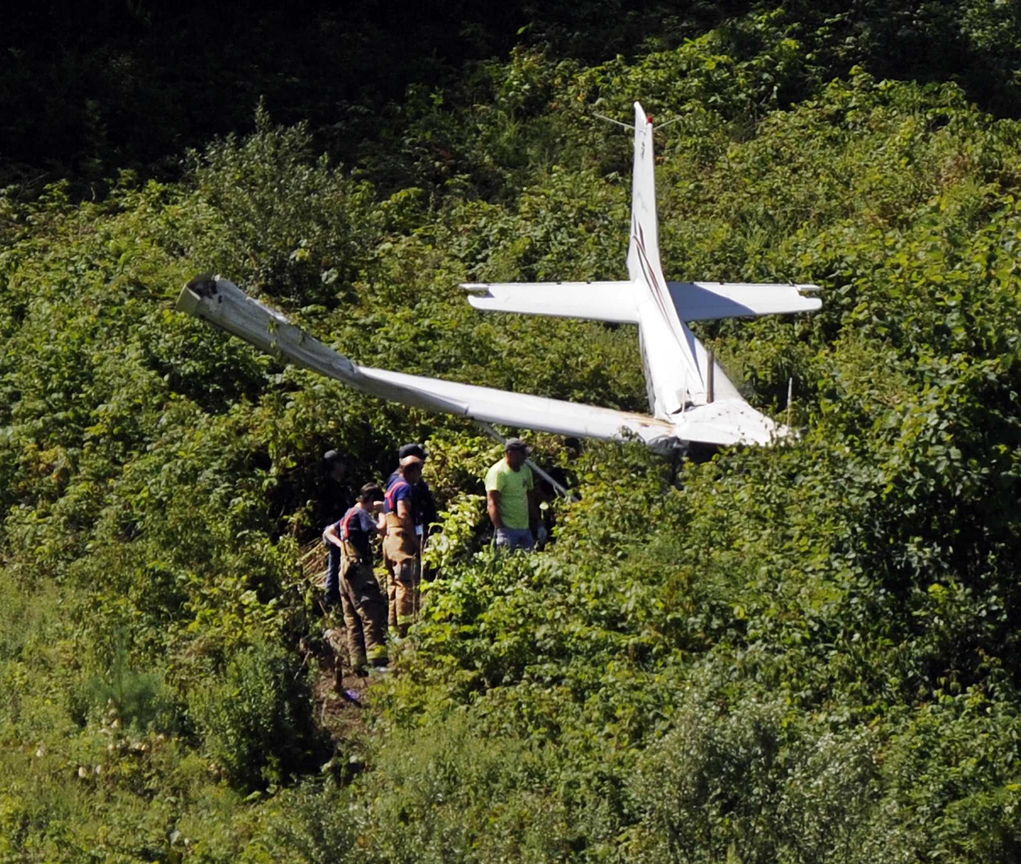 Plane Crashes Near Danbury Airport Sunday Morning