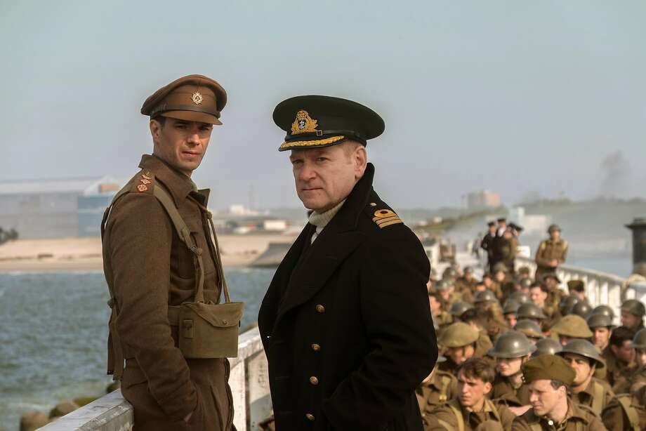 """James D'Arcy (left) and Ken neth Branagh in """"Dunkirk,"""" but viewers have the main role. Photo: Melinda Sue Gordon, Associated Press"""