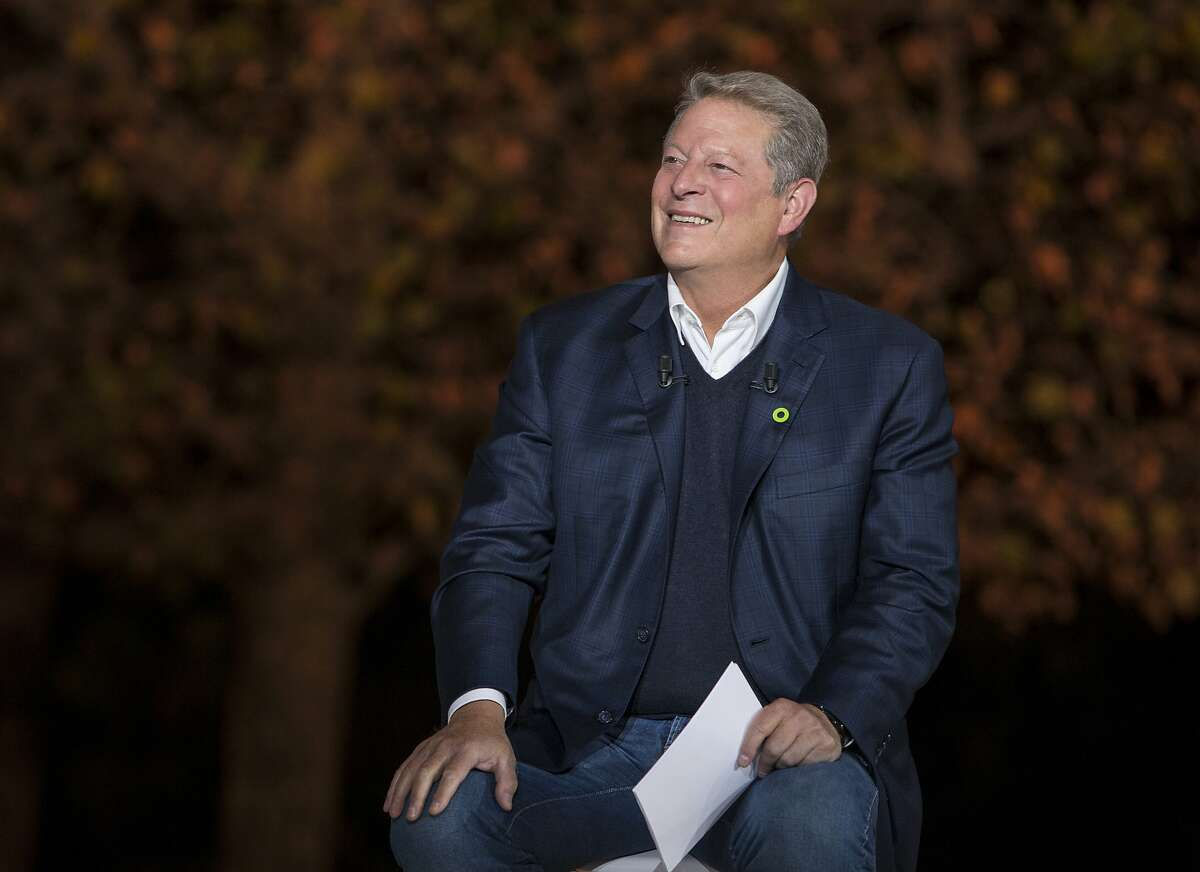 """This image released by Paramount Pictures shows Al Gore in """"An Inconvenient Sequel: Truth to Power."""" (Jensen Walker/Paramount Pictures via AP)"""