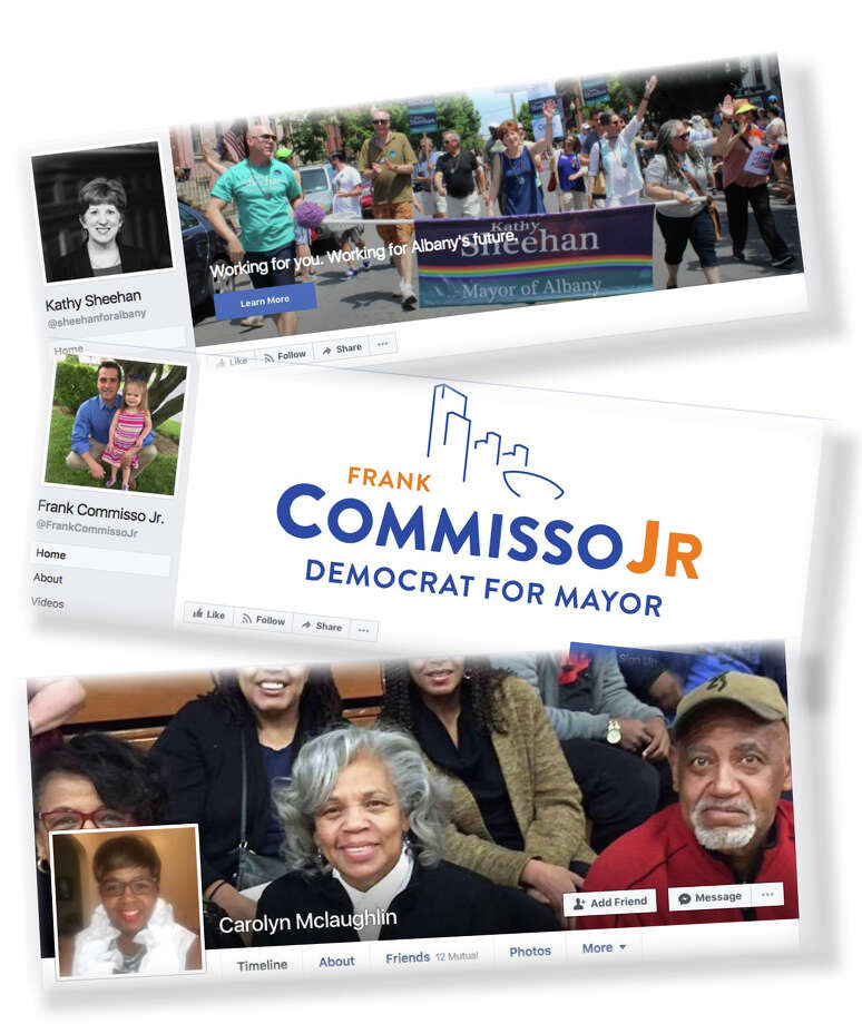 On Facebook, campaign messages reach a new audience.