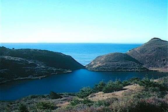 Pelican Lake is a beautiful lake nestled along the Coast Trail from the Palomarin Trailhead at Point Reyes National Seashore near Bolinas In Marin County