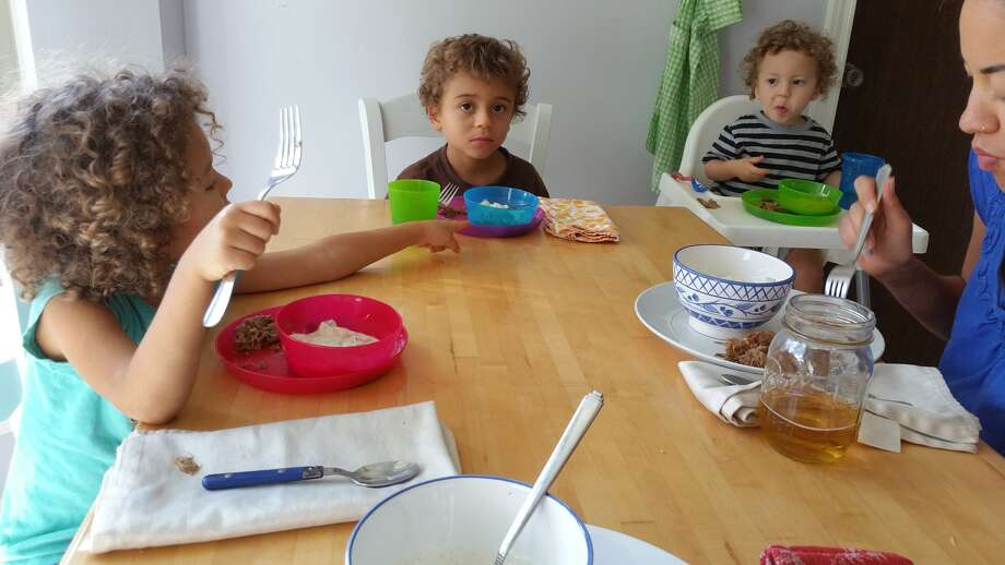 You can see it on their faces each night at dinner: My kids are ready for war.