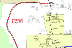 Proposed Vidor loop 299 Photo provided by Texas Department of Transportation