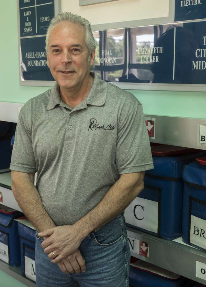 Dean Byrom, one of the 52 Faces of our Community.  7/28/17  Tim Fischer/Reporter-Telegram Photo: Tim Fischer/Midland Reporter-Telegram