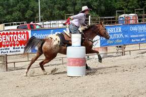 The Huron Community Fair kicked off Sunday afternoon with the annual Indian Trails Rodeo.