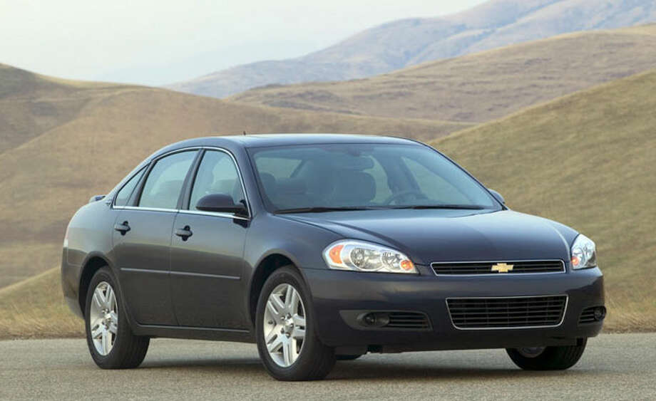 10. Chevrolet Impala — 9,749 theftsMost stolen model year in 2017: 2008 Impala. Photo: GM