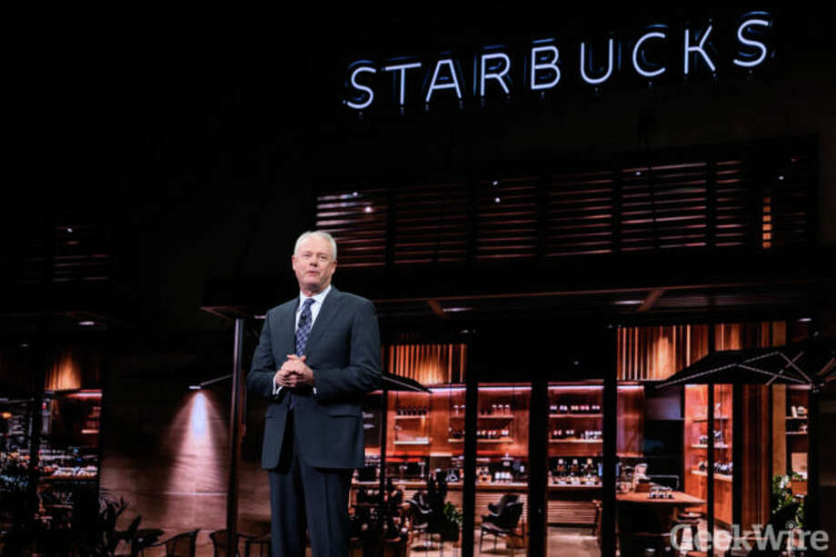 Starbucks CEO Kevin Johnson. Photo: Kevin Lisota/Geekwire