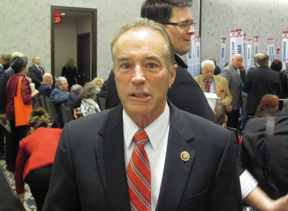 Federal prosecutors plan to unveil insider trading charges against U.S. Rep. Chris Collins, a Republican from Western New York, at a noon press conference, according to a news release from the office of Manhattan U.S. Attorney Geoffrey S. Berman.