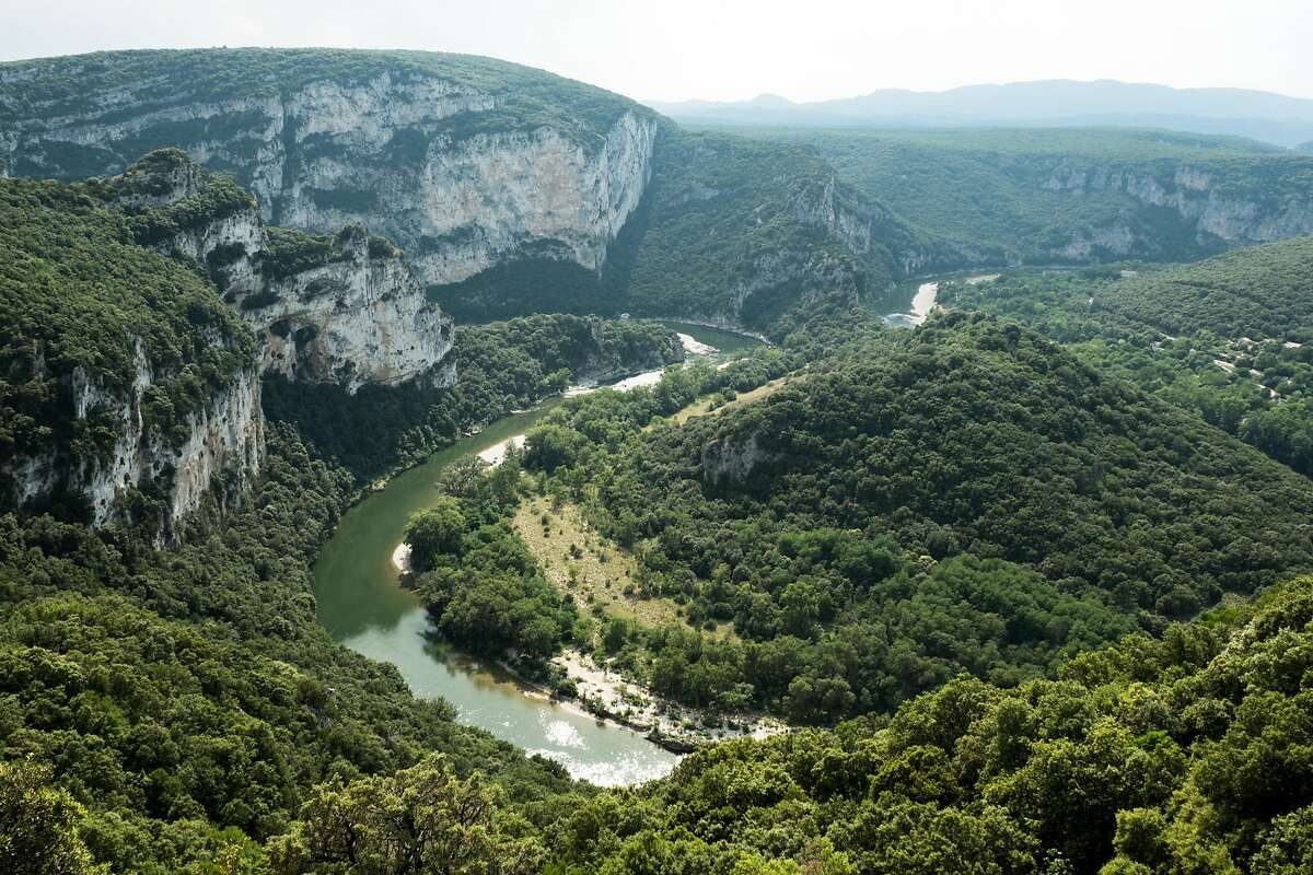 Known as the �European Grand Canyon�, the Gorges de l'Ard�che was formed by the Ard�che river, which snakes through it for more than 15 miles.