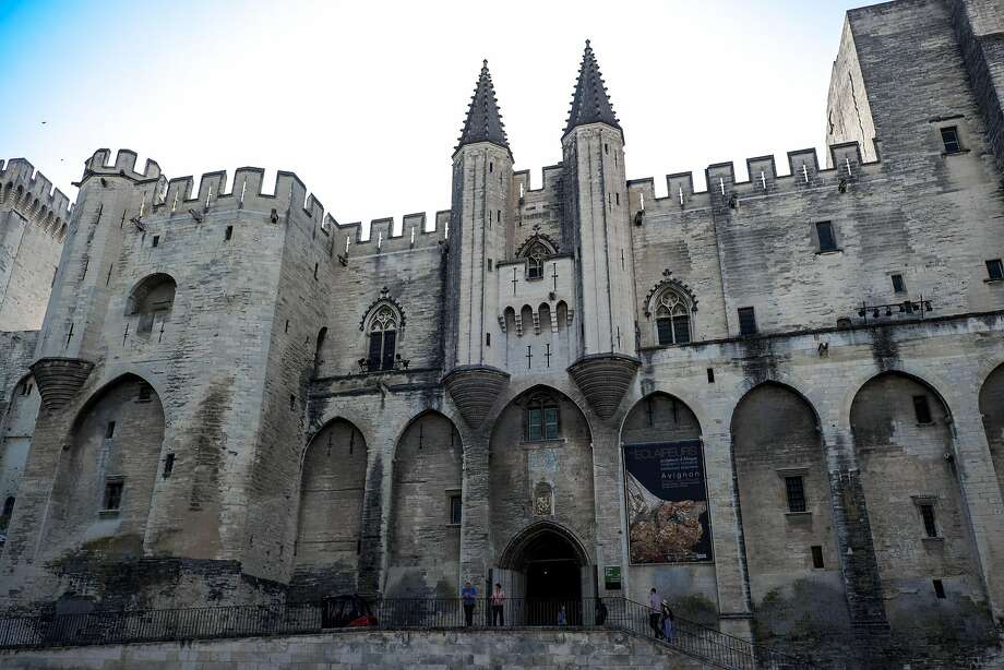 The massive medieval Palais des Papes (Popes' Palace) dominates the center of Avignon, one of the stops along CroisiEurope's Rhne River cruise. Photo: Mark Sissons, Special To The Chronicle
